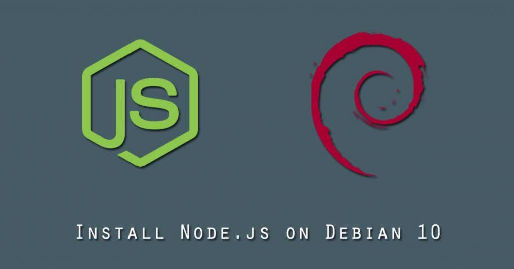 نصب Node.js بر روی دبیان