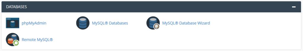 ابزارهای پایگاه داده – Database